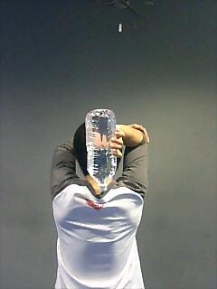 腕の筋トレ フレンチプレス 1