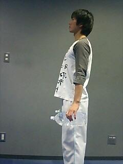 足の筋トレ スクワット(ダンベル) 1