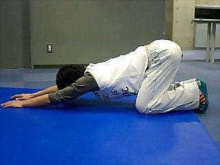 ストレッチ 肩と腰